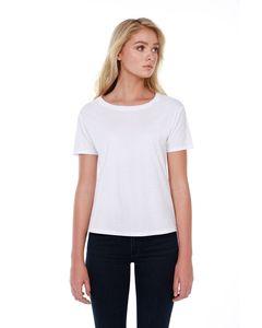 StarTee ST1018 - Ladies 3.5 oz., 100% Cotton Boxy High Low T-Shirt