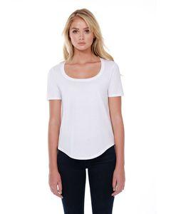 StarTee ST1019 - Ladies 3.5 oz., 100% Cotton U-Neck T-Shirt