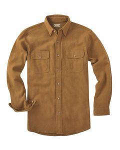 Backpacker BP7090T - Mens Tall Solid Chamois Shirt