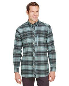 Backpacker BP7091T - Mens Tall Stretch Flannel Shirt