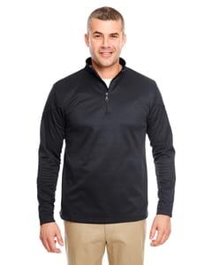 UltraClub 8440 - Adult Cool & Dry Sport Quarter-Zip Pullover Fleece