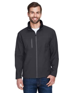UltraClub 8280 - Adult Ripstop Soft Shell Jacket with Cadet Collar