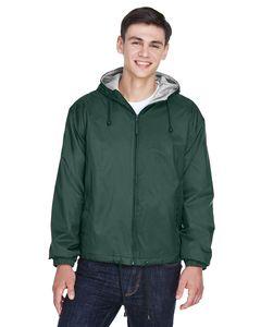 UltraClub 8915 - Adult Fleece-Lined Hooded Jacket