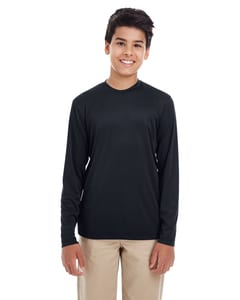 UltraClub 8622Y - Youth Cool & Dry Performance Long-Sleeve Top