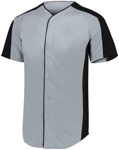 Augusta Sportswear 1656 - Youth Full Button Baseball Jersey