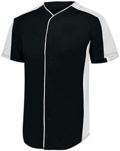 Augusta Sportswear 1655 - Full Button Baseball Jersey