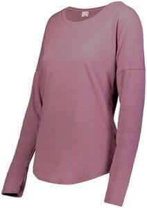 Augusta Sportswear 3077 - Ladies Lux Tri Blend Long Sleeve Tee