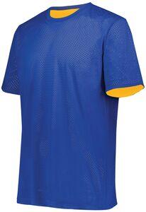 Augusta Sportswear 1603 - Youth Short Sleeve Mesh Reversible Jersey