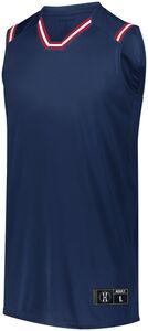 Holloway 224076 - Retro Basketball Jersey