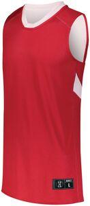 Holloway 224078 - Dual Side Single Ply Basketball Jersey