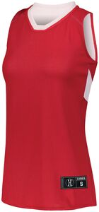 Holloway 224378 - Ladies Dual Side Single Ply Basketball Jersey