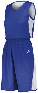 Russell 5R5DLX - Ladies Undivided Single Ply Reversible Jersey