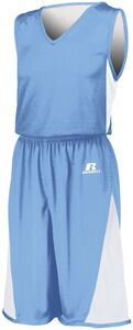 Russell 5R6DLM - Undivided Single Ply Reversible Shorts