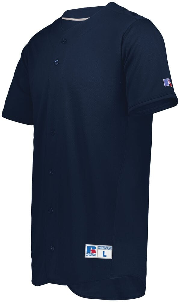 Russell 235JMB - Youth Five Tool Full Button Front Baseball Jersey