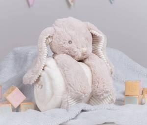 MUMBLES MM034 - Peluche lapin avec couverture