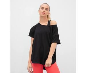 TOMBO TL527 - T-shirt col échancré