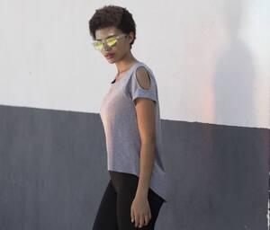 SF Women SK233 - Tee-shirt dos très long