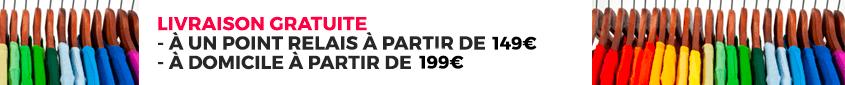 Livraison gratuite à partir de 149€