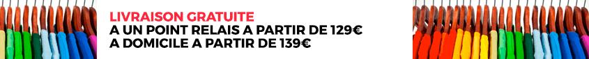 Livraison gratuite à partir de 129€