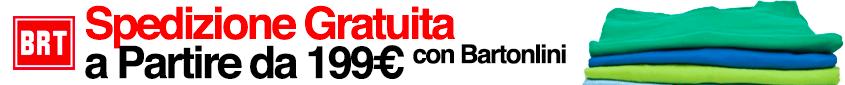 Spedizione gratuite a partire da 199€