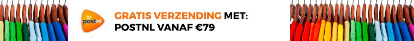 Gratis verzending vanaf 79€